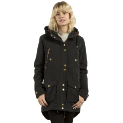 Volcom Walk On By Parka black