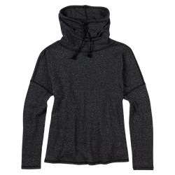 Burton Bloom Knit Top true black heather