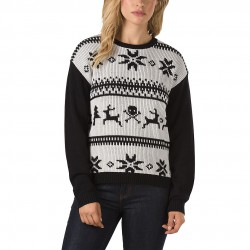 Vans Im Toasty Sweater holiday white sand