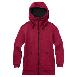 Burton Minxy Fleece plum heather