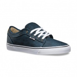 Vans Chukka Low distortion blue/black