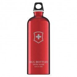 Sigg Swiss Emblem red 1l