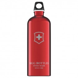 Sigg Swiss Emblem Touch red 1l