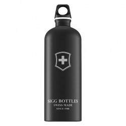 Sigg Swiss Emblem Touch black 1l