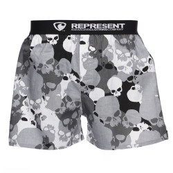 Represent Mike Urban Skull grey