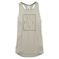 Burton Haskell Tank dove heather
