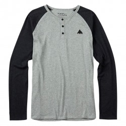 Burton Lifty Henley grey heather