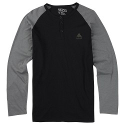 Burton Lifty Henley true black
