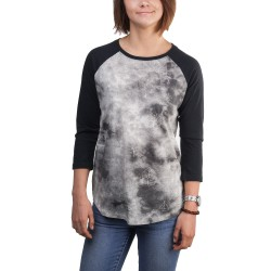 Burton Moon Rise 3/4 Raglan Sleeve freedom/true black