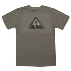 Burton Retro Logo Ss light olive