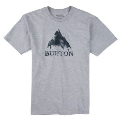 Burton Stamped Mountain Ss grey heather