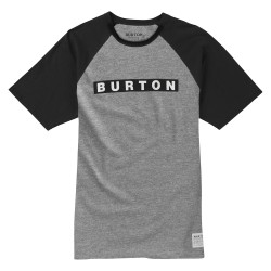 Burton Vault grey heather