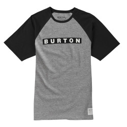 Burton Vault Ss grey heather