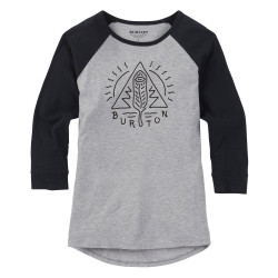 Burton Wms Twangy Raglan gray heather