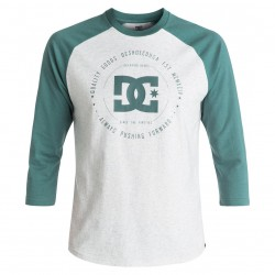DC Rebuilt 2 3/4 Raglan light grey heather/sea pine