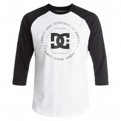 DC Rebuilt 2 3/4 Raglan snow white/black