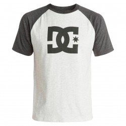 DC Star Raglan SS light heather grey