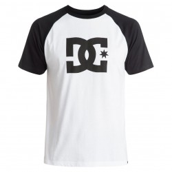 DC Star Raglan Ss snow white/black