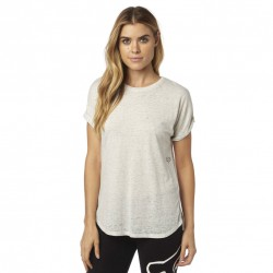 Fox Escaped Ss Crew light heather grey