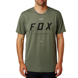 Fox Growled Tech Tee dark fatigue