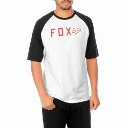 Fox Kill Shot Raglan vintage white