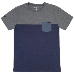 Gravity 3-Tone Pocket grey/indigo heather