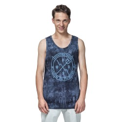 Horsefeathers Epic Tank Top blue batik
