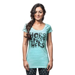 Horsefeathers Wild Thing washed aqua