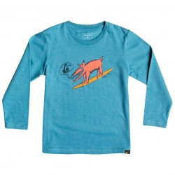 Quiksilver Classic Ls Classic Boy Dogi Surf captains blue