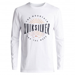 Quiksilver Classic Ls Mad Wave white