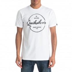 Quiksilver Classic Silvered white