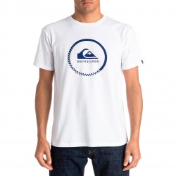 Quiksilver Classic Ss Active Logo white
