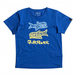 Quiksilver Classic Ss Boy Double Fish turkish sea