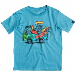 Quiksilver Classic Ss Boy Happy Days captains blue