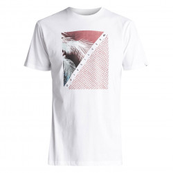 Quiksilver Classic Ss Coast Lines white