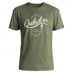Quiksilver Classic Ss Sea Tales four leaf clover heather