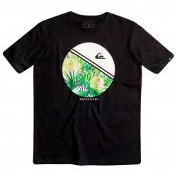 Quiksilver Classic SS Youth Free Wheelin black