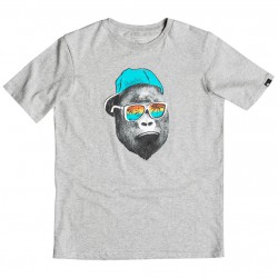 Quiksilver Classic Ss Youth Kong Business light grey heather