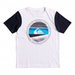Quiksilver Classic Ss Youth Last Tree white