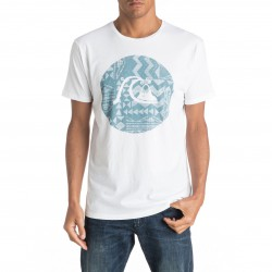 Quiksilver Garment Dye Circle Bubble white