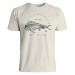 Quiksilver Live To Fish oatmeal heather