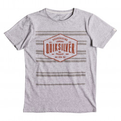 Quiksilver Neverlost Striped Youth athletic heather