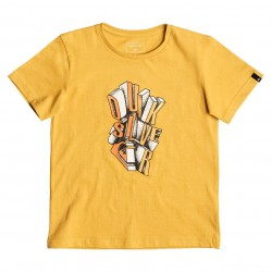 Quiksilver Ss Classic Boy Fries golden glow