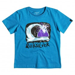 Quiksilver Ss Classic Boy Magic Volcano vallarta blue