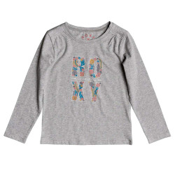 Roxy Never Ages Flower Power Typo heritage heather
