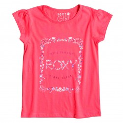 Roxy Tw Basic Crew Little Surfer paradise pink