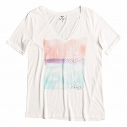 Roxy V Neck Tee C sea spray