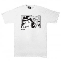 Thrasher Boyfriend white