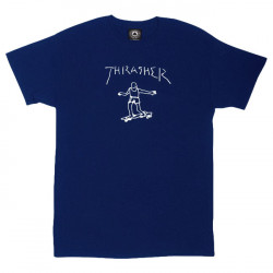 Thrasher Gonz By Mark Gonzales navy blue