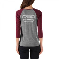 Vans Authentic Trap Raglan grey heather/port royale